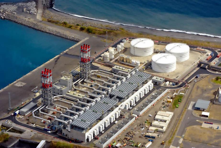 production centrale thermique