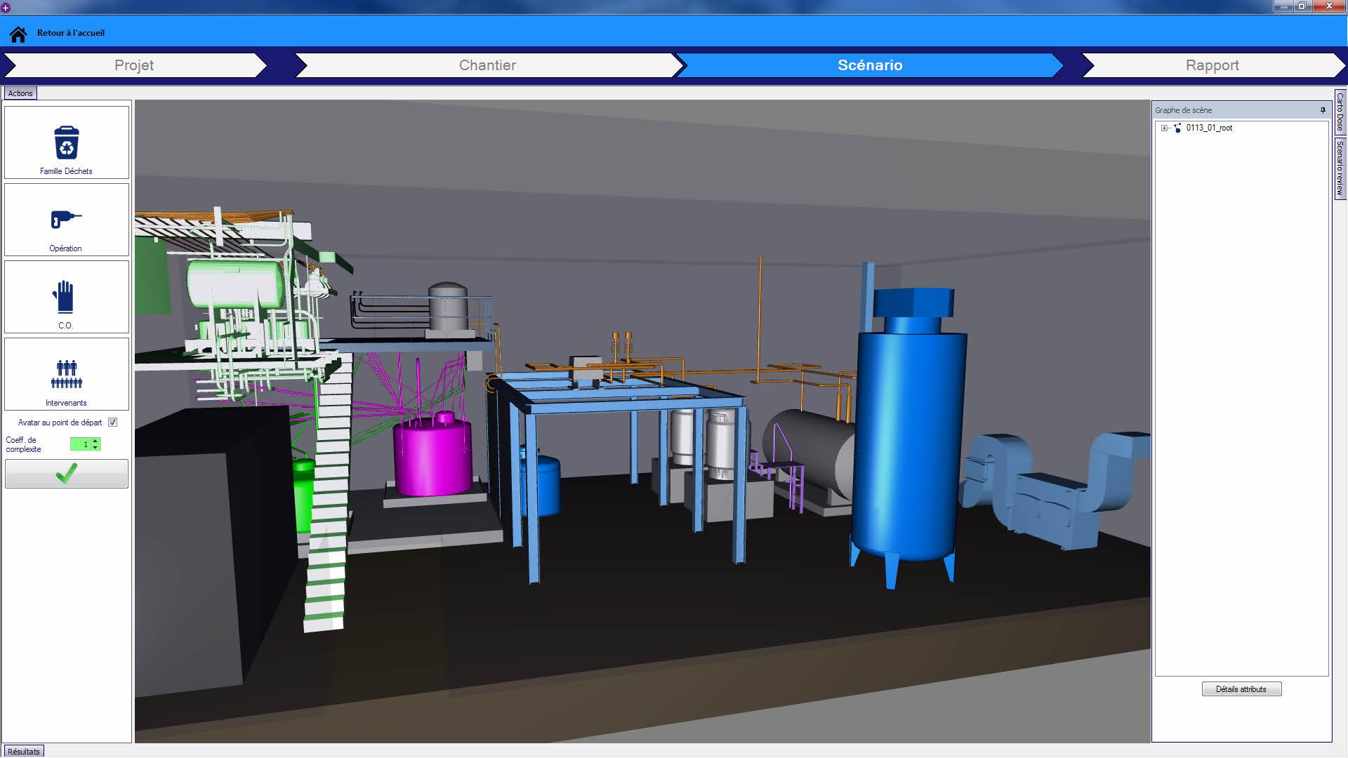 Le CEA parie sur DEMPlus, un logiciel de simulation de démantèlement ...