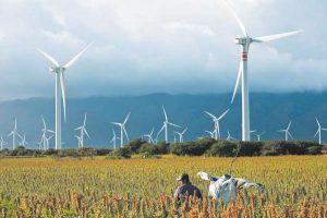 éolien + CHine