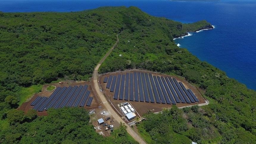 énergie solaire pacifique