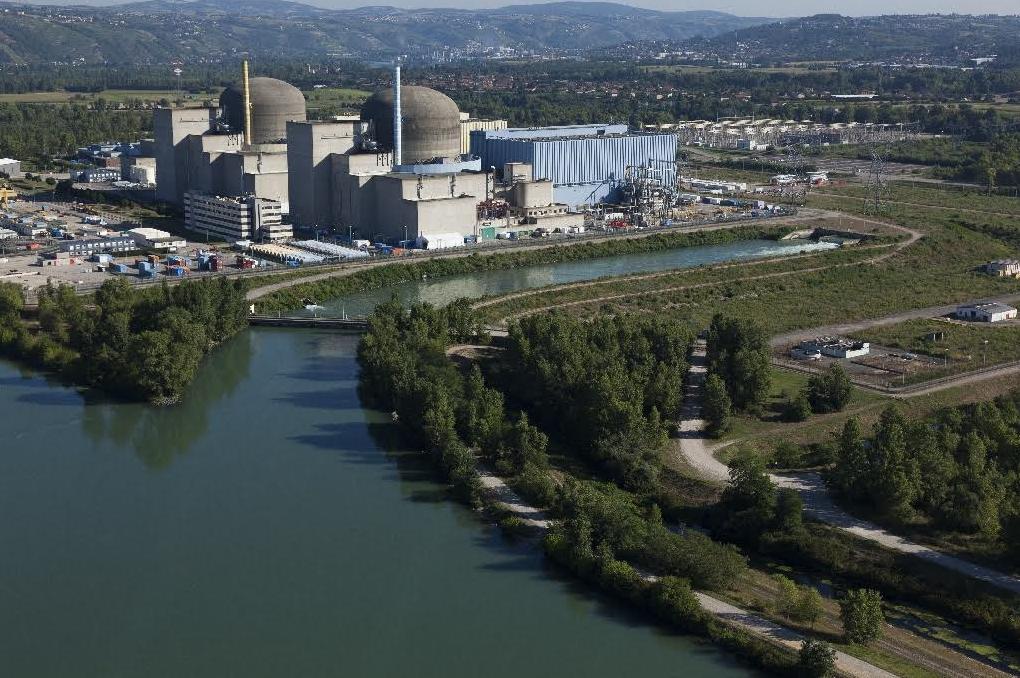 centrale nucléaire de Saint Alban