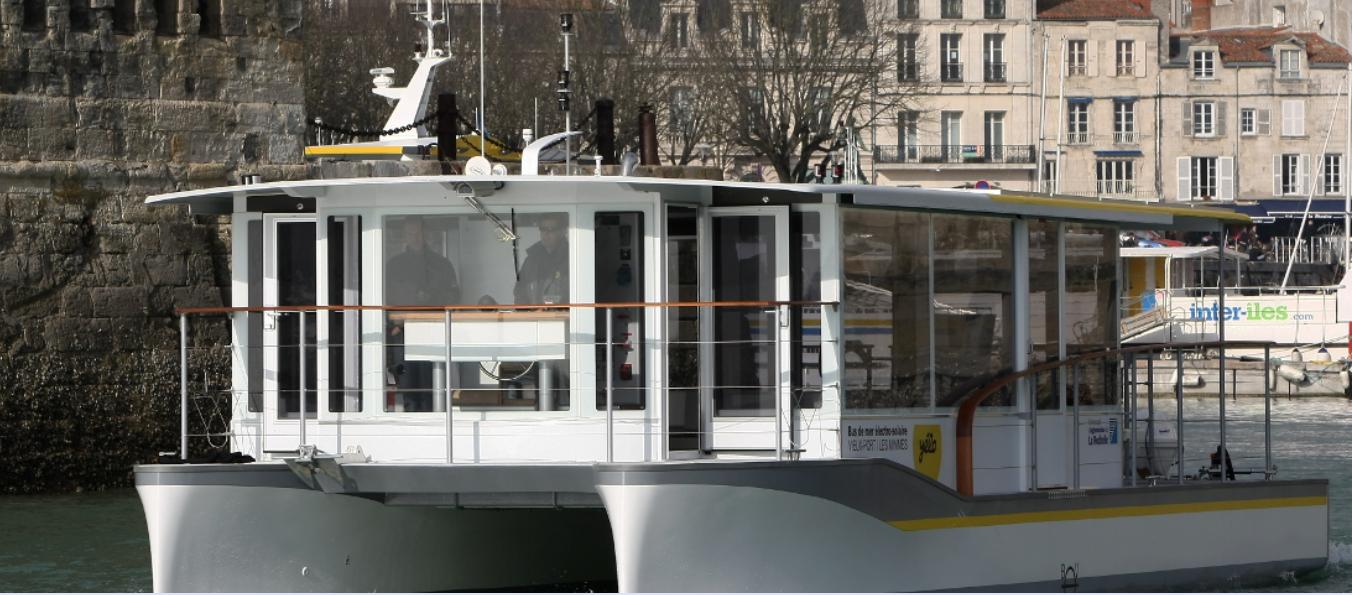 Le Premier Bus De Mer L 39 Hydrog Ne Exp Riment La