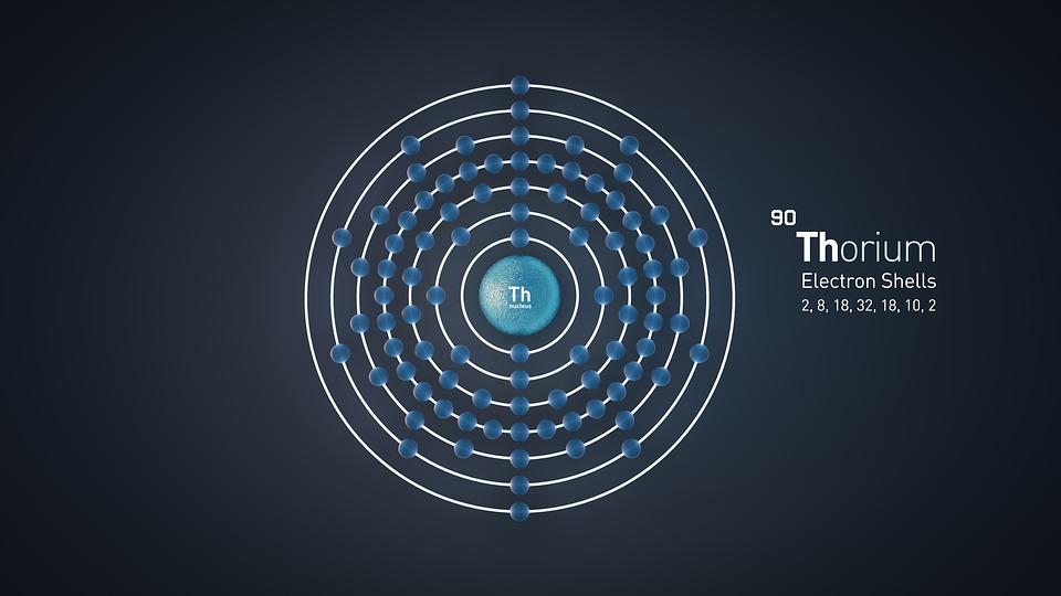 thorium-atome-nucleaire