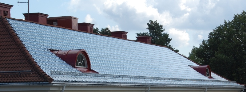 efficacit nerg tique une toiture chauffante gr ce. Black Bedroom Furniture Sets. Home Design Ideas
