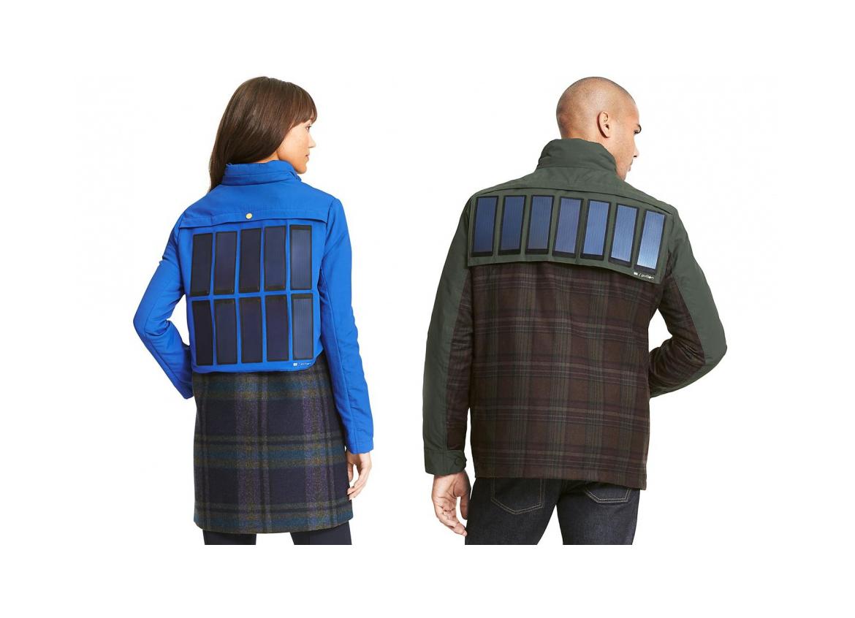 Tommy Hilfiger : Une veste à panneaux solaires pour ne