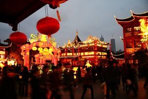 Illumination Yuyuan Garden, Shanghai - d'n'c