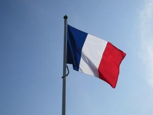 Drapeau français -PublicDomainPictures