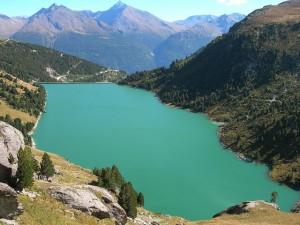 Le lac du Plan d'Amont_photo de Joan GIRAL
