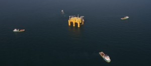 plate-forme de conversion offshore - photo ABB