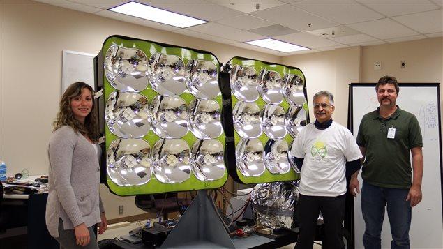 une start up canadienne d veloppe un panneau solaire quatre fois plus puissant l 39 energeek. Black Bedroom Furniture Sets. Home Design Ideas