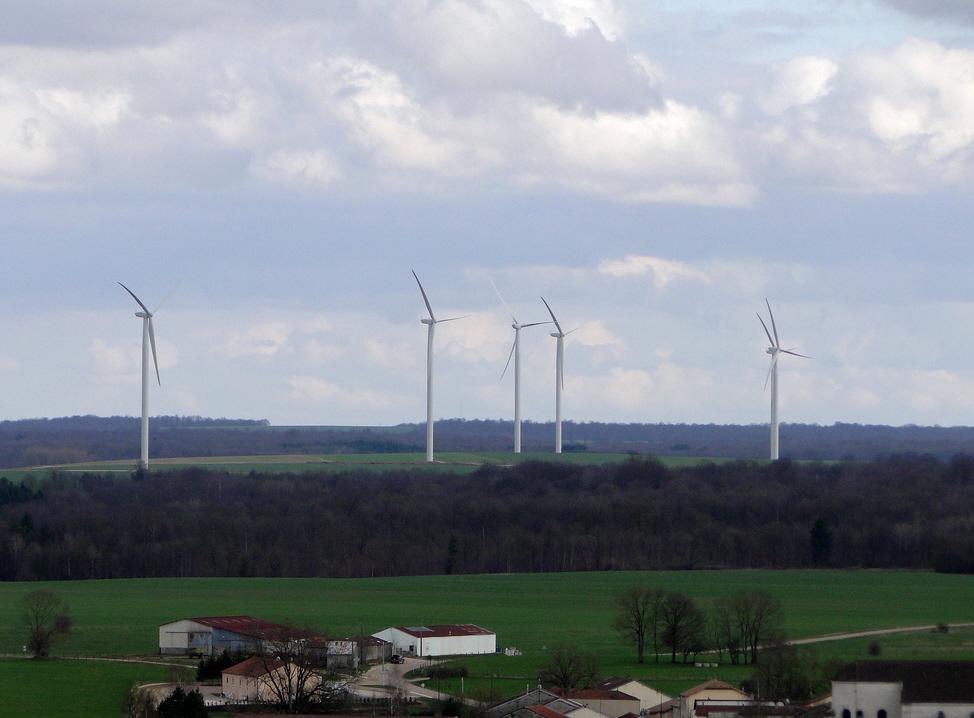 éoliennes marne