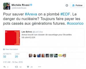 nucléaire EDF Areva