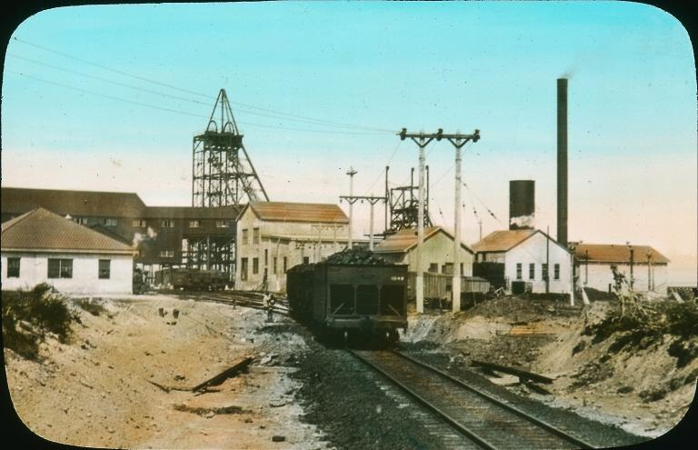Mine charbon Glace bay