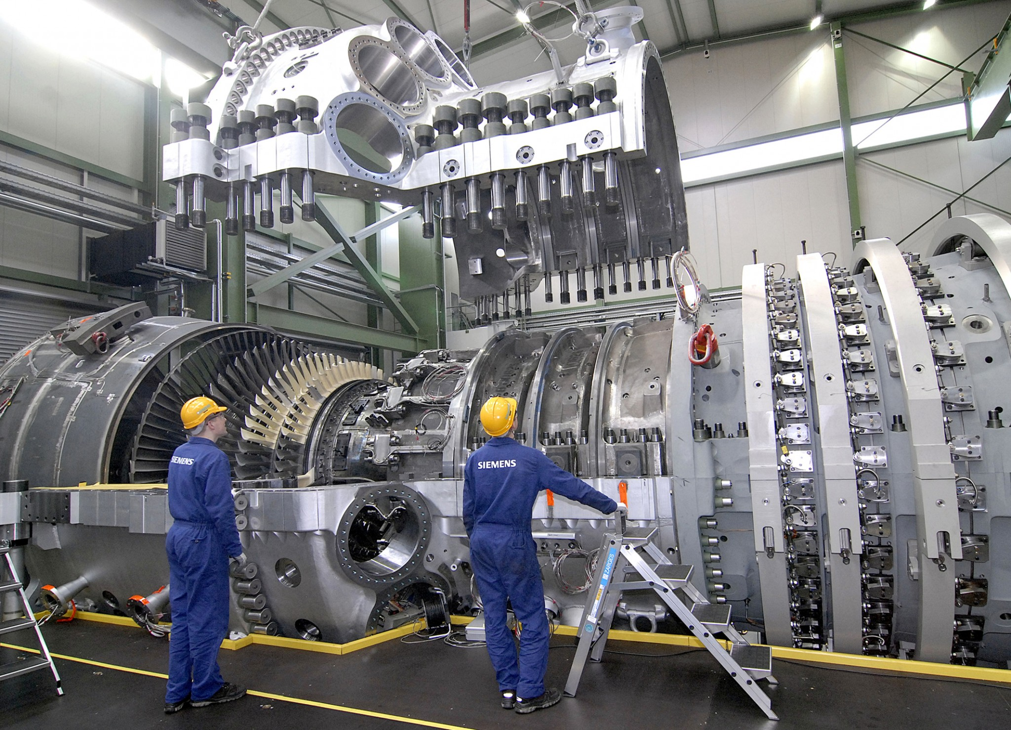Siemens-turbines-gaz-detournees