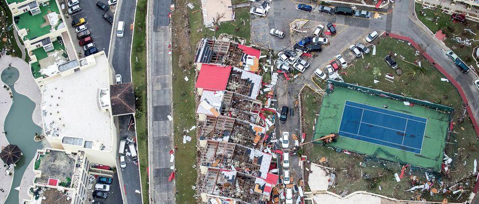 EDF-saint-martin-degats-ouragan-Irma