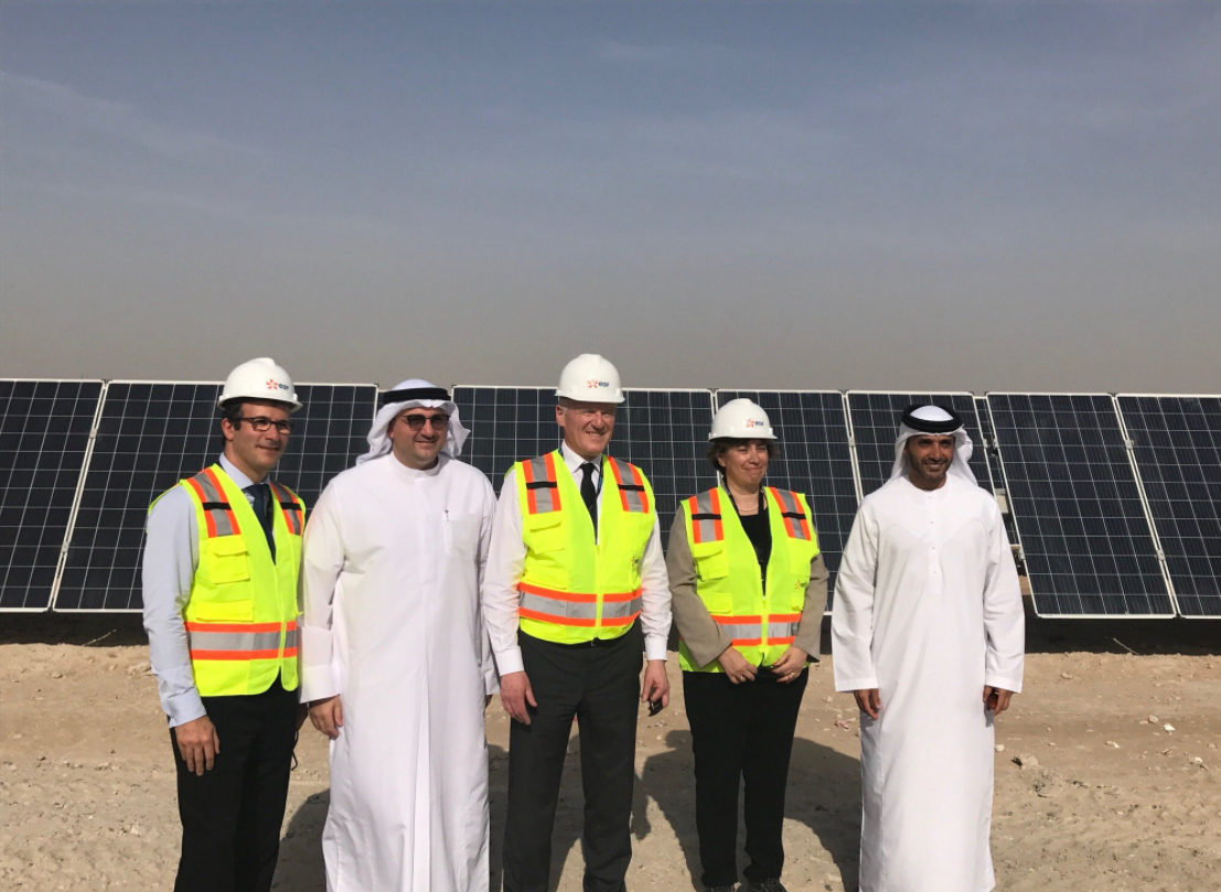 EDF_centrale_solaire_emirats_arabes_unis