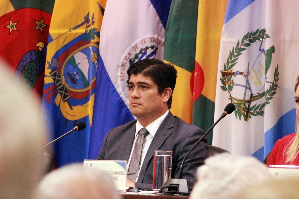 Carlos Alvarado lance le Plan National pour la décarbonisation du Costa-Rica