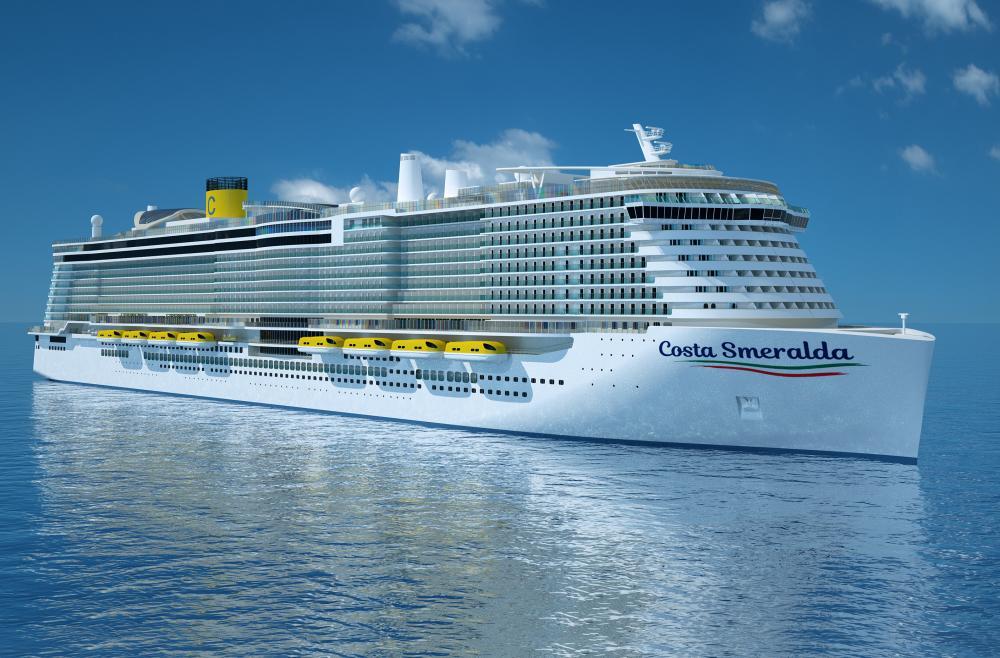 Costa Croisières met à l'eau son premier paquebot au GNL