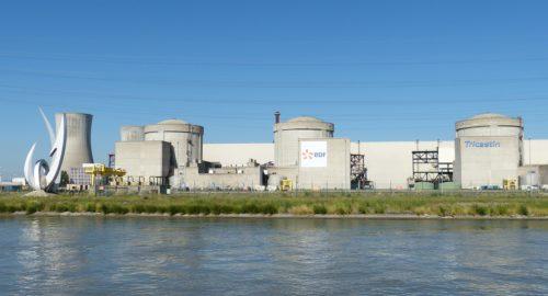 Canicule et centrales nucléaires françaises
