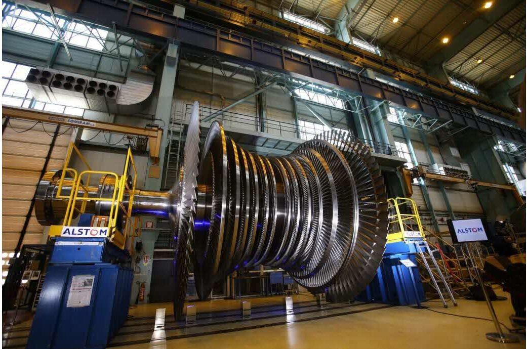 activite nucleaire ge turbines pavillon francais - L'Energeek