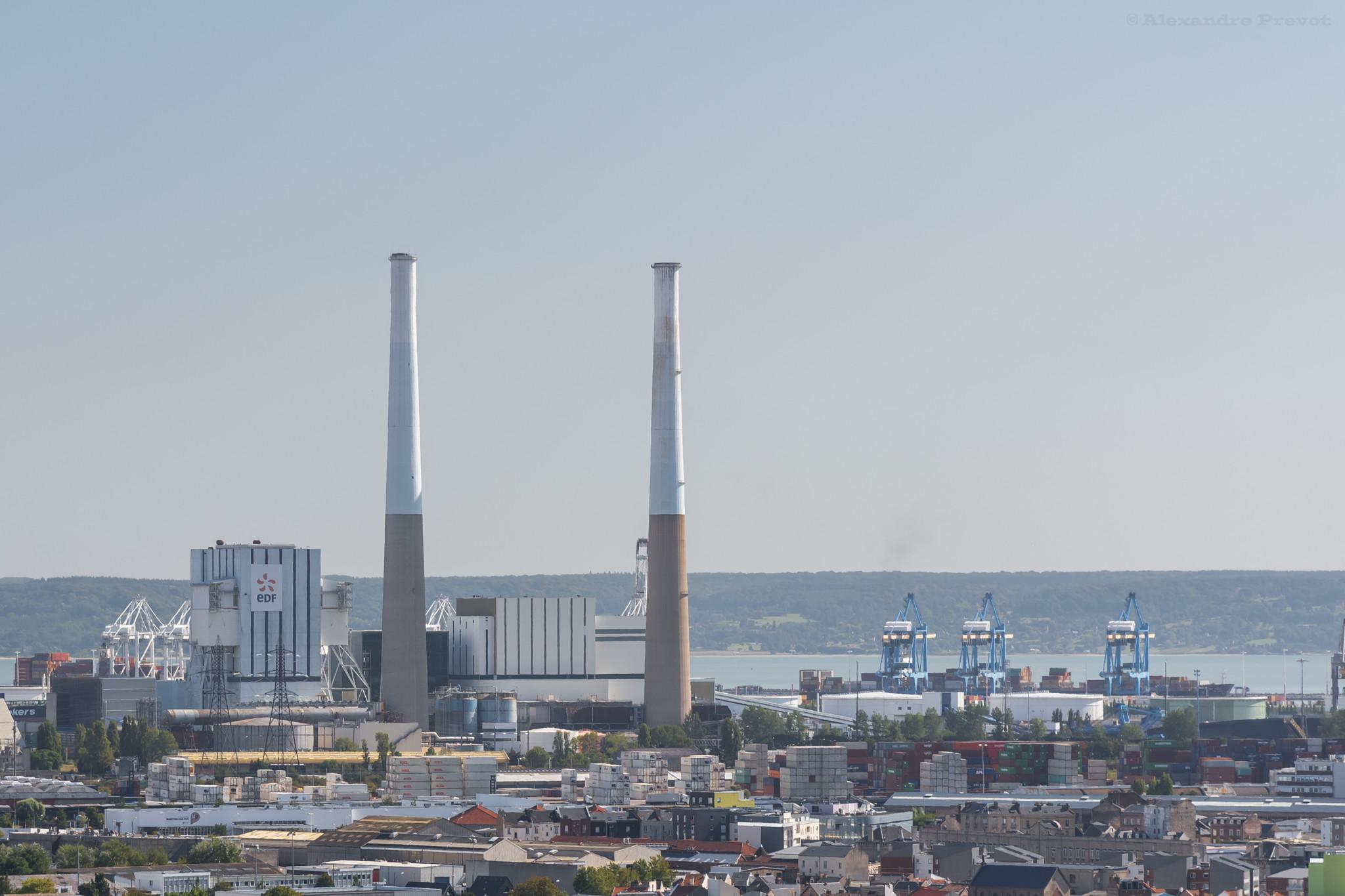 le havre centrale charbon deconnectee reseau electrique - L'Energeek