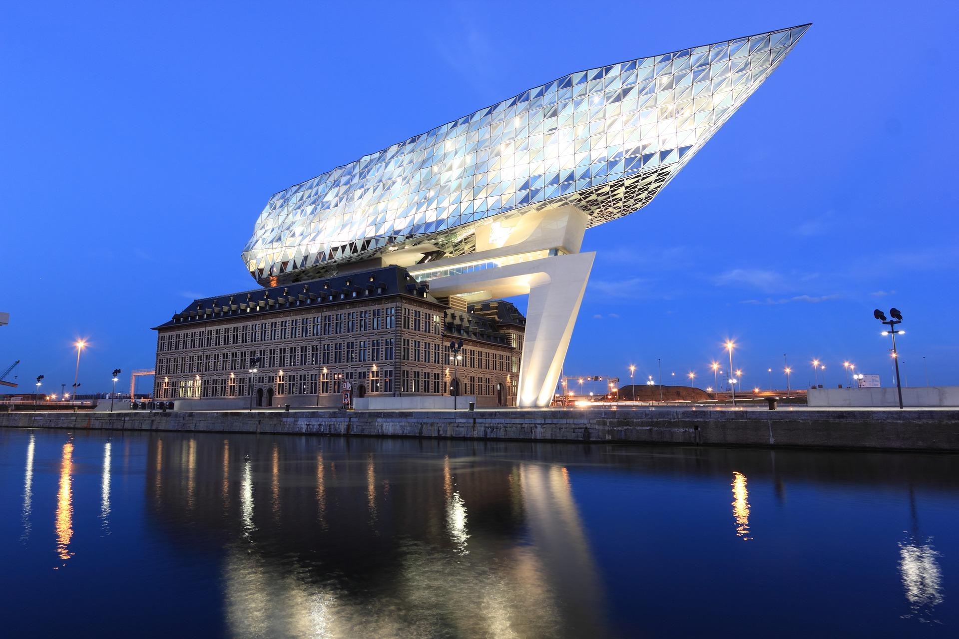 port anvers plus grande station hydrogene monde - L'Energeek